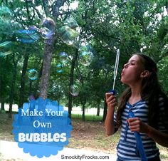 Make Your Own Bubbles 2