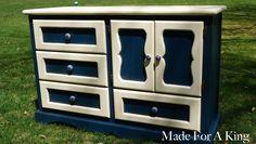 Two-Tone Dresser