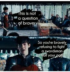 So you're bravely refusing to fight a swordsman half your age. - The Chronicles of Narnia: Prince Caspian- Edmund Pevensie Narnia 3, Edmund Narnia, Narnia Movies, Edmund Pevensie, Brave, Chronicles Of Narnia, Movie Quotes, Hunger Games, Hilarious