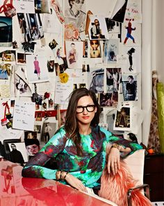 Jenna Lyons, Creative Director for J. Love her personal style. Michelle Obama, Jenna Lyons, Bespoke Shirts, Street Style, Look Fashion, Fashion Styles, Fashion Outfits, New York Fashion, Creative Director