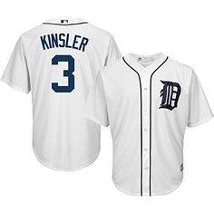 Detroit Tigers Ian Kinsler Majestic Youth Home Cool Base Jersey – Detroit Sports Outlet