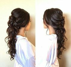 half up prom hair with french braid + cute | prom hairstyles for long hair #promhair