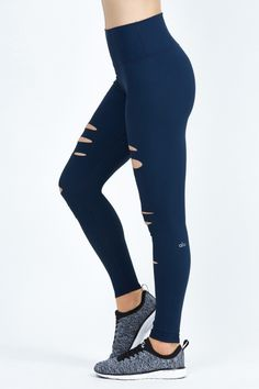 Ripped Warrior Legging by Bandier