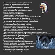 « Prière amérindienne » Par Charlotte Newashish-Flamand Amérindienne de la nation Atikamekw de Manawan