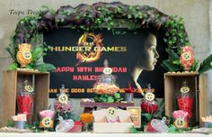 hunger games candy buffet