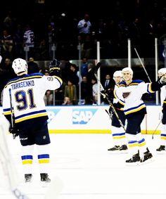 St. Louis Blues! Love this team!