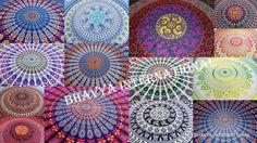 20Pc Wholesale Lots Queen Hippie Mandala Tapestry Bohemian WallHanging Bedspread #Handmade #ArtDecoStyle