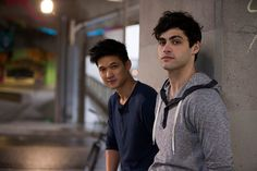 This is my favorite #malec picture ever! IDK why but it is. Matt and Harry are just awesome