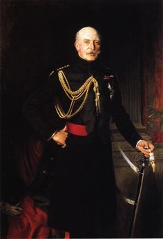 Fiield Marshall H.R.H.the Duke of Connaught and Strathearn 1907-1908. John Singer Sargent