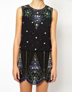 Image 3 ofFrock and Frill Embellished Shift Dress with Scallop Hem