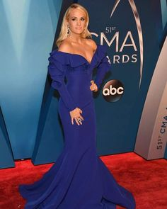 """884 Likes, 19 Comments - @carrie_underwood_today on Instagram: """"Carrie at the CMA red carpet tonight"""""""