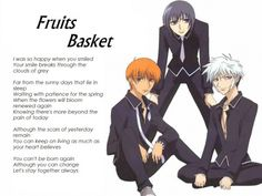 251 Best Fruits Basket Images On Pinterest