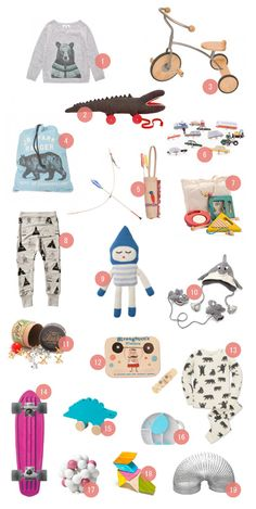 gift-guide-for-boys spotted on Design For Mini Kind ...LOVE number 5