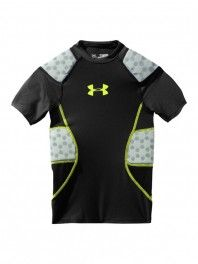 BEST undershirt for added protection! Jackson loves his!!  Under Armour Boy's 5 Pad Game Day Armour Top
