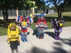 Transformers Kids 1 on Best Transformers Costume Ever! Bumble Bee Transformer Costume, Transformer Halloween Costume, Halloween Costumes Kids Boys, Transformer Birthday, Halloween 2020, Happy Halloween, Homemade Costumes, Diy Costumes, Caleb