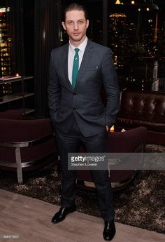 Actor Tom Hardy attends the after party for the A24 and The Cinema Society of 'Locke' at The Skylark on April 22, 2014 in New York City.