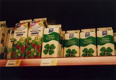 milks in lovely package by Keiko Murate/村手 景子, via Flickr