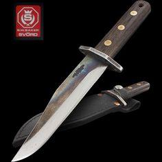 Svord Von Tempsky Ranger Tactical Survival, Survival Knife, Survival Skills, Spring Steel, Black Leather Belt, Tool Steel, Blacksmithing, Bowie, Ranger