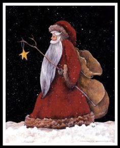Just a pic, but I love this Santa
