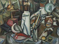 Amadeo de Souza Cardoso - Natureza viva dos objectos, 1913 Naive, Cubist Art, Modernisme, Georges Braque, Gustav Klimt, Paint Designs, Painting & Drawing, Art Boards, Art Photography