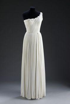 Evening Dress Madame Grès, 1955 The Victoria & Albert Museum
