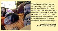 How do you define family?