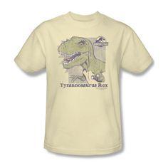 Jurassic Park Movie Happy T-Rex Dinosaur Family Tee Shirt Adult S-3XL