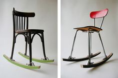 make any chair a rocking chair.