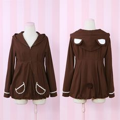 original design brown bear jacket coat free ship sp141160