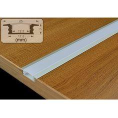 Aluminum LED Strip Light Channel Recessed Housing Flush Mount