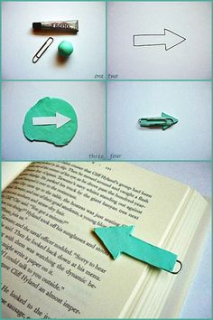 Arrow Bookmark | Making Lovely