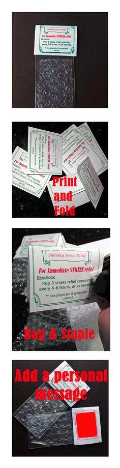 funny gag gift, teacher gift, boss gift, or stocking stuffer. Diy Christmas Cards, Christmas Fun, Redneck Christmas, Christmas Wrapping, E Cards, Cards Diy, Funny Christmas Jokes, Christmas Ecards, Diy Stockings