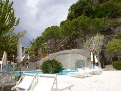 """Giardini Termali, """"Miramare Sea Resort & Spa"""" (Hotel), Sant'Angelo, Isola Ischia Italia (Maggio)"""