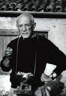 Today's über-cool, über-Cubist celebrity with a camera: PABLO PICASSO