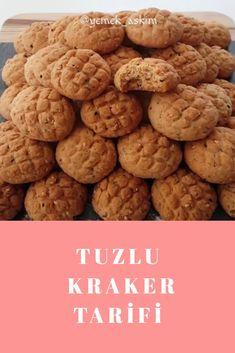Tuzlu Kraker Turkish Delight, Turkish Recipes, Pasta, Cookies, Desserts, Food, Crack Crackers, Tailgate Desserts, Deserts
