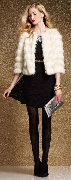 97c1b2bceacb New Year Eve Outfits Ideas, 2014 new year's eve outfit, Free People New  Year's Eve outfit,Fur and black dress for NEW YEAR'S EVE POST - Valentine's  Day ...