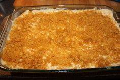 Quick and Easy - Cheesy Potato Casserole Recipe