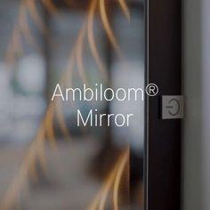 Dieser Wandspiegel wertet Ihre moderne Einrichtung durch besondere, ambiente Beleuchtung stilvoll auf. Mirror, Modern Interiors, Mirrors