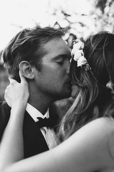 love this shot of groom & bride in an intimate moment...
