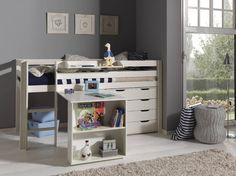 Kids Bedroom Mezzanine lit mezzanine avec bureau rangements | chambres d'enfants