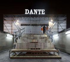 """""""Maqueta para el Dante"""" en Bogotá: invertir el recorrido de un edificio patrimonial para redescubrirlo Falls Church, Design, Interiors, Detail, Buildings, Architecture, Aperture, Santiago, Art"""
