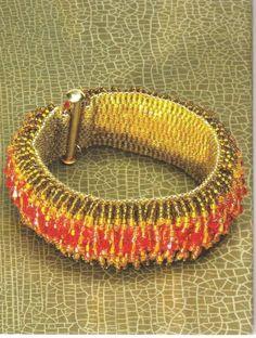 Схемы: Браслеты. Архив Beads and Button1993, 2013. Часть 2