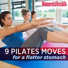 9 belly-sculpting exercises from the Women's Health Big Book of Pilates. Learn the moves and you'll be staring at a six-pack in no time.