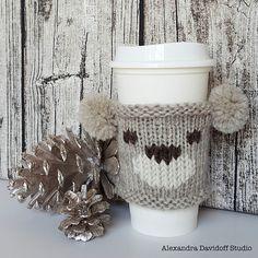 Ravelry: Little Bear cup cozy pattern by Alexandra Davidoff
