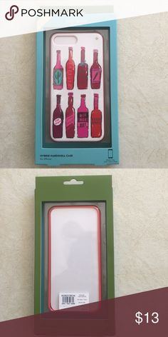 Kate Spade hybrid hardshell case for iPhone 7 plus Hardshell case for the 7plus iPhone. Hot sauce design. Never out of the package. From Nordstrom. USD $45.00 kate spade Other