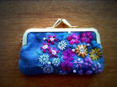 画像 : 簡単ハンドメイド!がま口小物の作り方*財布 ポーチ 長財布 ペンケース 手作り バッグ 型紙 - NAVER まとめ