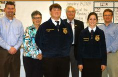 Top placings for FFA students