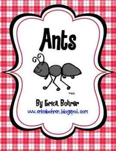 This download is for a 92 page Common Core Aligned ant unit.  It has everything you need for a unit of study on ants.  Included in this packet:2 ...