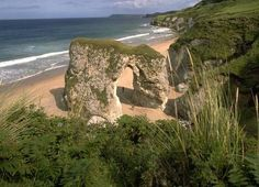 Portrush (Whiterocks). All 23 of Northern Ireland's bathing beaches have passed stringent new water quality standards - despite summer's torrential rain.