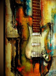 Original Painting  Modern Abstract Art by SLAZO  30x40 by SlazoArt, $450.00